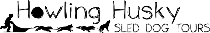 Howing Husky Logo black on white